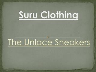Unlaced Sneaker‬ - www.suruclothing.com