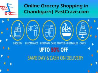Online grocery shopping in Chandigarh - FastCraze