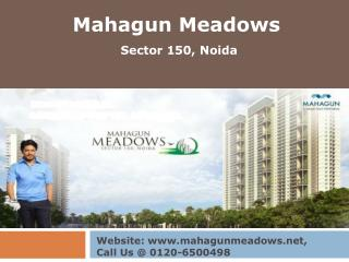 Mahagun Meadows Villas in Sector 150, Noida Expressway