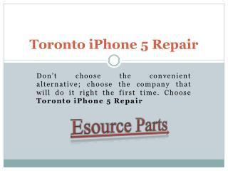 iPhone 5 screen replacement Mississauga