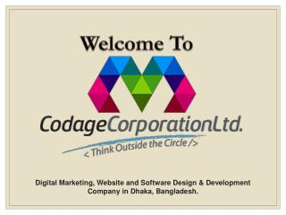 Digital Marketing - Codage Corporation Ltd.