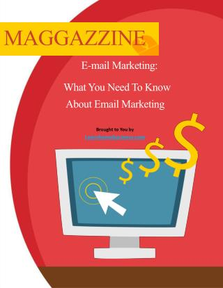 3 Basics You Need To Know About Email Marketing PDF - Free