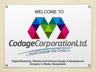 Website Design & Development Services - Codage Corporation Ltd