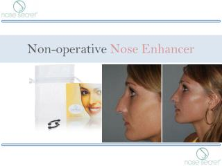 Non-operative Nose Enhancer - Nose Secret