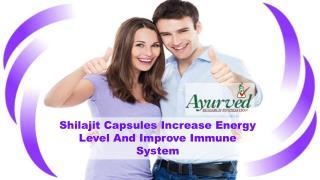 Shilajit Capsules Increase Energy Level And Improve Immune System