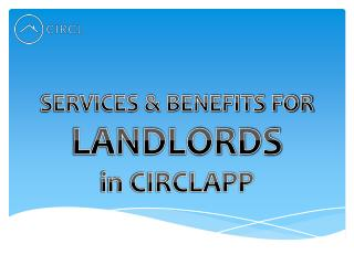 Services & Benefits for Landlords