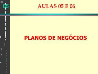 AULAS 05 E 06