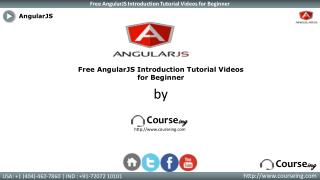 AngularJS Introduction Training