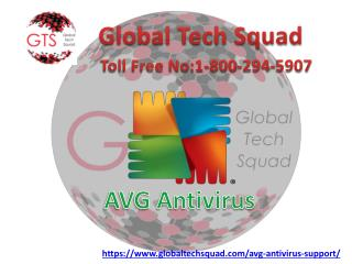 Support for AVG Antivirus with GTS | Call us:-1-800-294-5907
