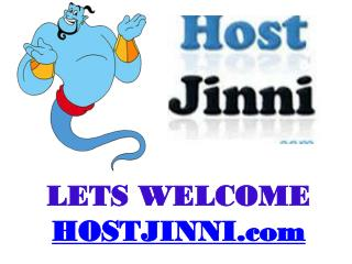 Host Jinni- Web Hosting Company In India