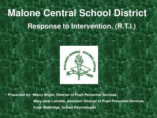 Malone Central School District