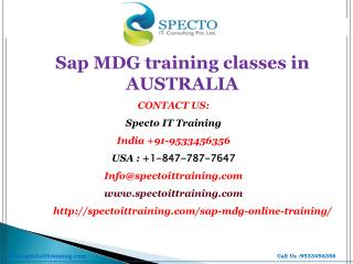 sap ehs online training classes in usa-australia | specto