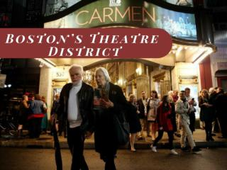 Boston's Theatre District