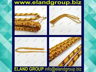 Military Band Gold Lanyard
