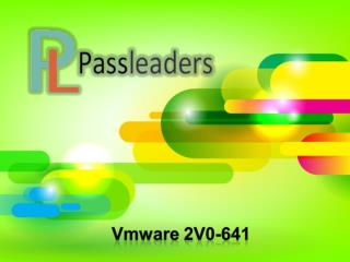 Passleader 2V0-641 Exam Questions