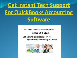 Technical Support Services For quick books accounting software