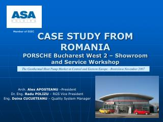 CASE STUDY FROM ROMANIA PORSCHE Bucharest West 2   Showroom and Service Workshop