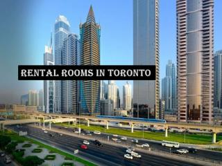 Rental Rooms in Toronto