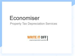 Economiser | Property Tax Depreciation Services