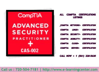 CompTIA Security  Certification