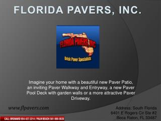 Patio pavers broward, Stone pavers broward