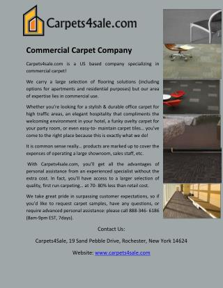 Commercial Carpet Company