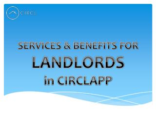 Services & Benefits for Landlords |CIRCL