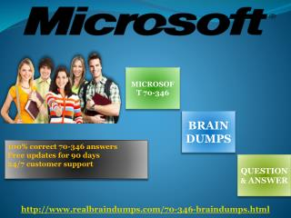 Pass your exam with Realbraindumps