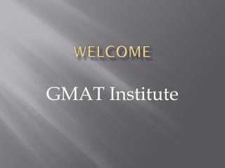 Best GMAT Institute