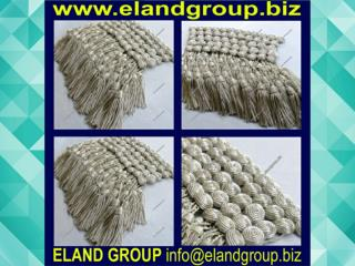 Military Bullion key Tassels