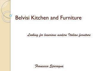 Modern italian furniture
