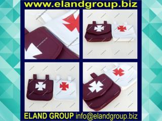 Masonic Knight Templar Alms Bags