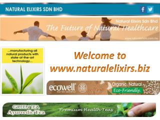Naturalelixirs.biz offers herbal private labelling on its products