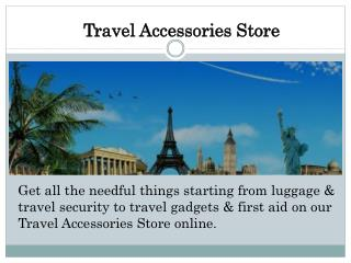 Travel Accessories Store | Bohotraveller
