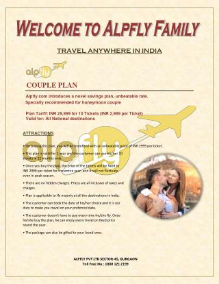 ALPFLY - Couple Plan