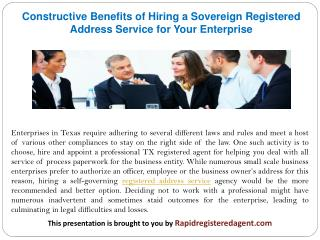 A Comprehensive Insight on What Sorts of Business Structures Require Hiring Professional Registered Agents in Texas