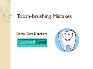 Emergency dental care dearborn