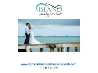 Obtaining a full wedding planning service in Cayman