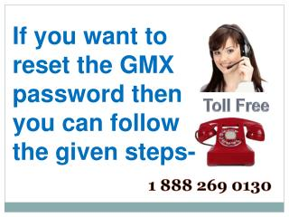 Gmx Password Recovery Helpline Number