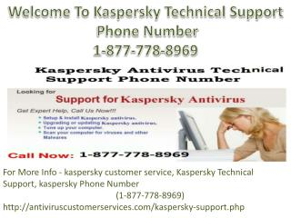 KESPERSKY _1-877-778-8969 For Kespersky Phone Number