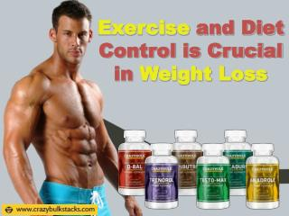 Exercise and Diet Control is Crucial in Weight Loss