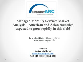 Managed Mobility Services (MMS) Market Analysis | IndustryARC