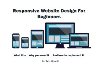 Responsive Web Design: A Guide For Beginners