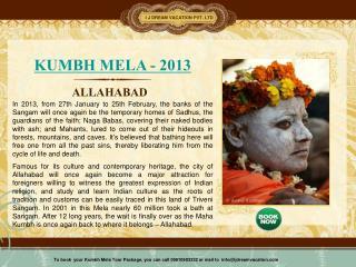 Allahabad Maha Kumbh Mela 2013
