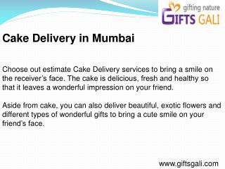 Cake Delivery in Mumbai