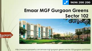 Emaar MGF Gurgaon Greens in Sector 102, Gurgaon - BuyProperty.com