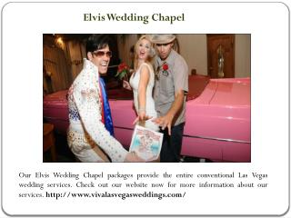 Wedding venues in Las Vegas