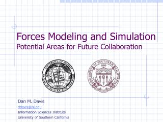 Forces Modeling and Simulation Potential Areas for Future ...
