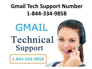 Gmail Customer Support Number 1-844-334-9858