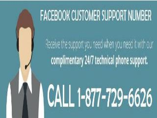 Customer Support For Facebook 1-877-729-6626 For Unlimited Help